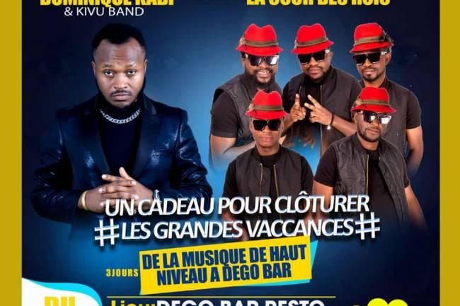 Karaokés chez Dego Bar : Face à Face Dominique Kabi et Cour des Rois ces week-ends du début octobre 2021