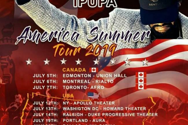 "Fally Ipupa dans ""America Summer Tour 2019"""