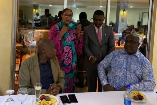 Le bon sens d'accomodement entre l'honorable Patrick Munyomo et le Président Félix Tshisekedi