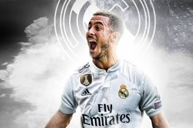 Eden Hazard débarque au Real Madrid !
