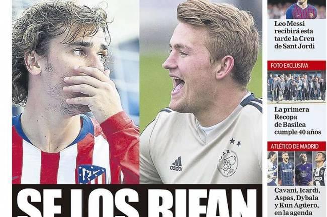 Les Unes des journaux sportifs en Espagne du 16 mai 2019