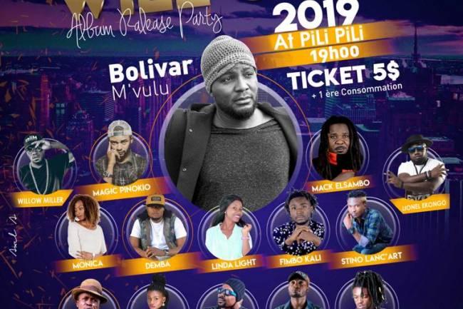 Bolivar M'vulu présente son Album à Goma au travers 2 spectacles !