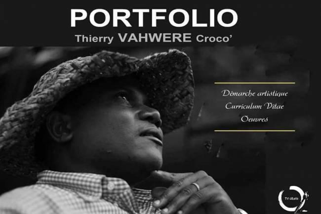 Thierry Croco, le célèbre peintre dessinateur autodidacte et instinctif Congolais