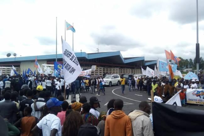Moïse Katumbi triomphe à Goma