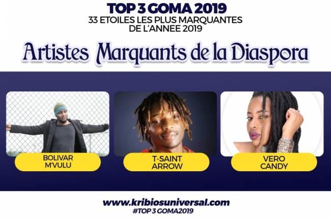 33 Étoiles les plus marquantes de l'année 2019 à Goma: Diaspora