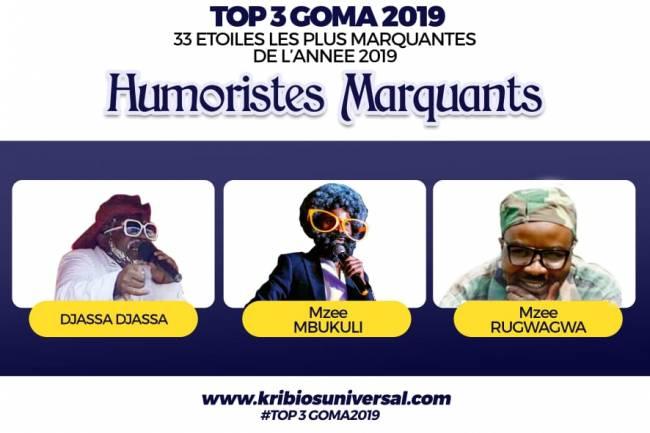 33 Étoiles les plus marquantes de l'année 2019 à Goma: Humoristes et Comédiens