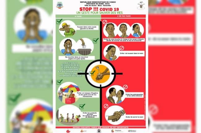 Sauvons la population du Nord-Kivu contre le Coronavirus