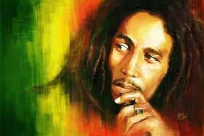 Bob Marley, le plus grand musicien de reggae à travers le monde et une icône du mouvement rastafari !