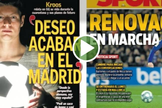 Les Unes des journaux espagnols du week-end