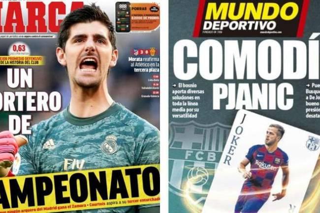 Les Unes des journaux sportifs espagnols de ce Week-end 4 juillet