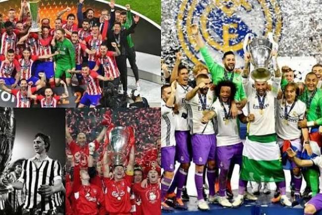 Les clubs les plus titrés d'Europe