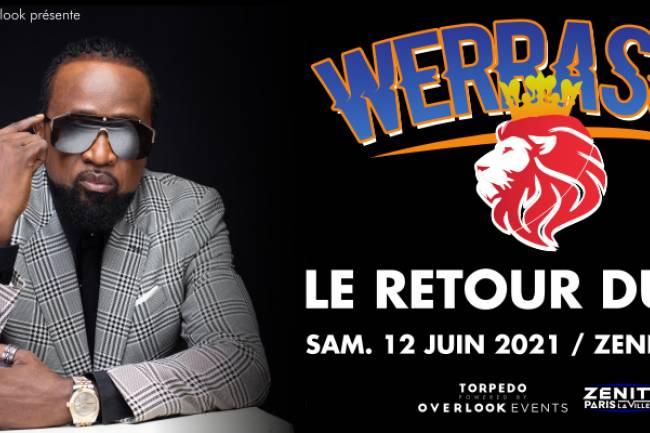 Werrason signe son grand retour au Zénith de Paris !